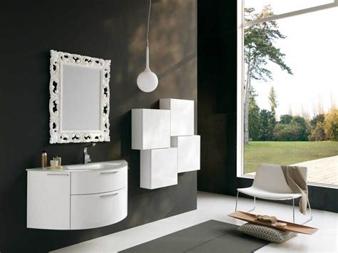 12 framed bathroom mirrors designs and ideas