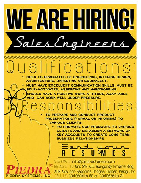 job vacancy announcement  behance