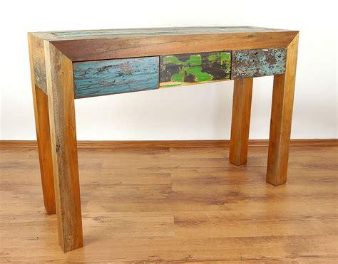 Handmade Reclaimed Furniture - java furniture reclaimed colourful boat teakwood
