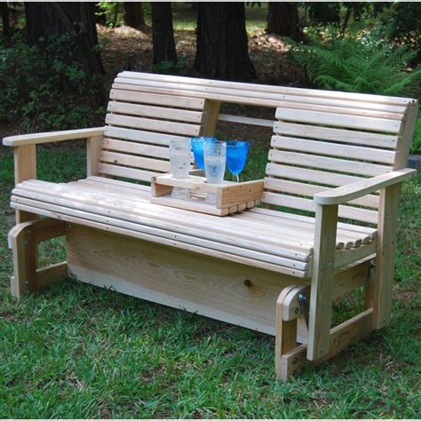 pallet porch swing instructions la swings middle console armrest 5ft porch glider