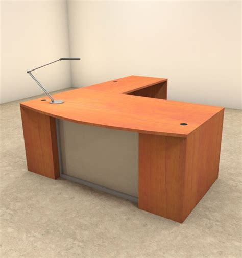 Modern L Shaped Office Desk 3pc L Shaped Modern Contemporary Executive Office Desk Set Of Con L61 Ebay