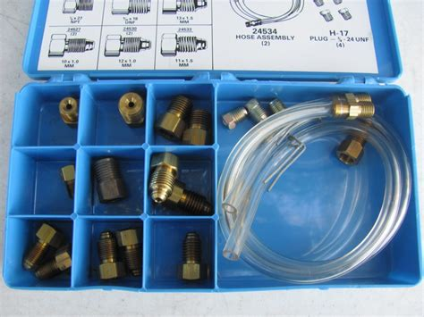 bench bleed master cylinder kit brake master cylinder bench bleeder kit metric sae threaded bf125