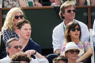 Isle Of Wight Guy Martin newlywed benedict cumberbatch and wife seen for the first