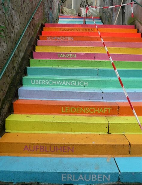 famous stairs see the world s most stunning painted stairways daily
