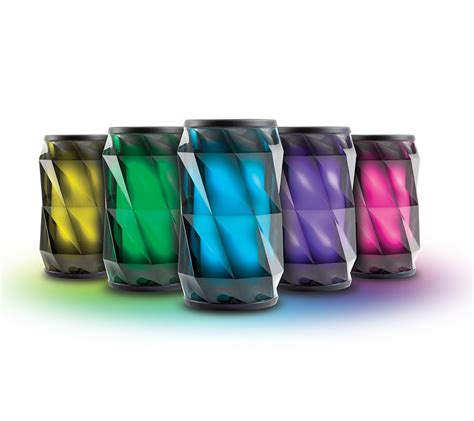 color changing speaker ihome ibt74 color changing bluetooth rechargeable speaker