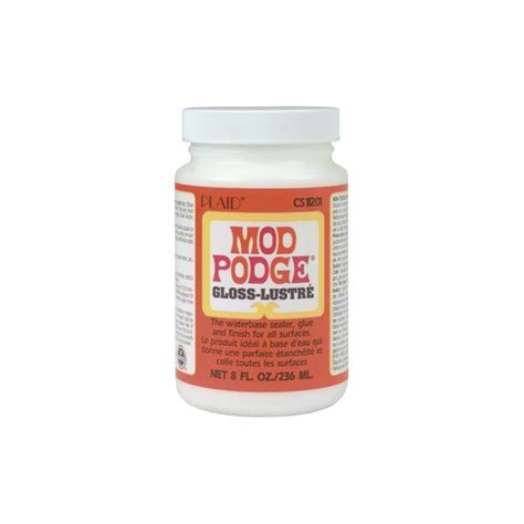 Decoupage Gloss - mod podge gloss finish 8oz bottle which craft