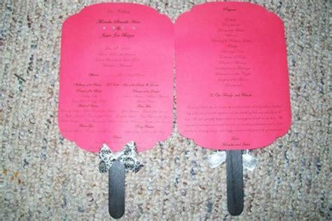 diy wedding fan template free msmonicka s diy paddle fan programs weddingbee photo gallery