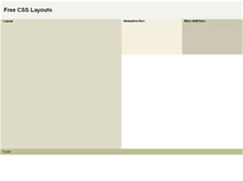page layout design in css css layout 171 free css layouts free css