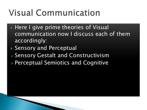 visual communication from theory visual communication by asad lashari