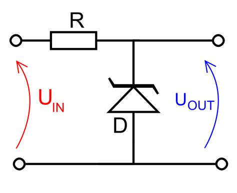 what is the voltage across a zener diode file zener diode voltage regulator svg wikimedia commons