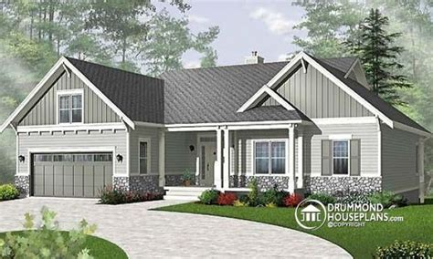 Bungalow Plans With Basement by House Plans Bedrooms And Lakes On