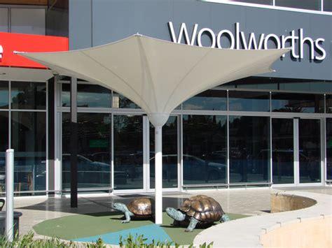 Landscape Structures Pebble Flex Flexshade Lotus Inverted Pvc Shade Umbrella Project Ods
