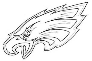 philadelphia eagles logo coloring coloring pages