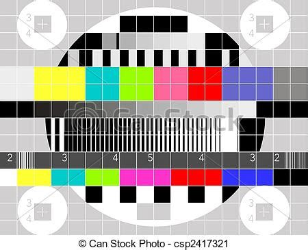 tv test pattern stock images royalty free images clipart of retro tv multicolor signal test pattern