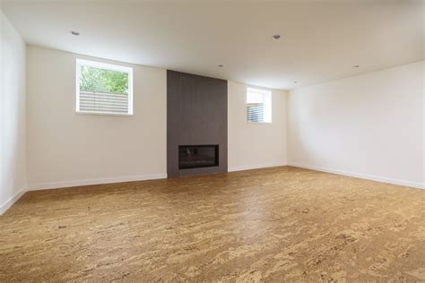 Cork Flooring Basement Best To Worst Rating 13 Basement Flooring Ideas