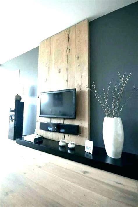 meuble tv accroche au mur accroche tele au mur deco tv au