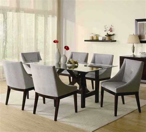 Modern Glass Dining Room Tables Contemporary Glass Dining Room Table Sets