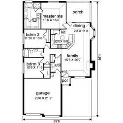 1500 Sf House Plans by Traditional Style House Plan 3 Beds 2 00 Baths 1500 Sq
