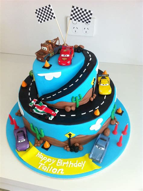 cars 2 birthday cake cakecentral