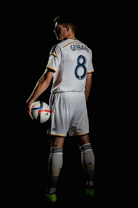 Multi Family Plans your first look at steven gerrard in an la galaxy jersey