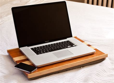 Wooden Computer Lap Desk With Removable Cushion 17 Laptop Desk Cushion