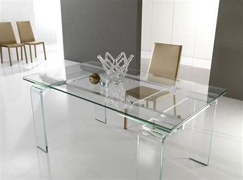 tavolo da pranzo in cristallo tavolo lord il cristallo si allunga l eleganza
