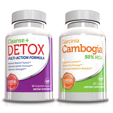 Detox Top Looks by Genetic Solutions Garcinia Cambogia Cleanse Detox