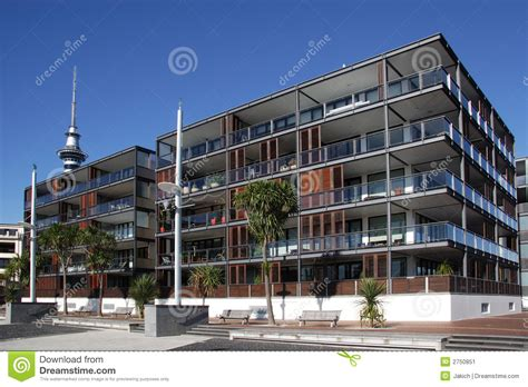 waterfront appartments waterfront apartments stock image image 2750851