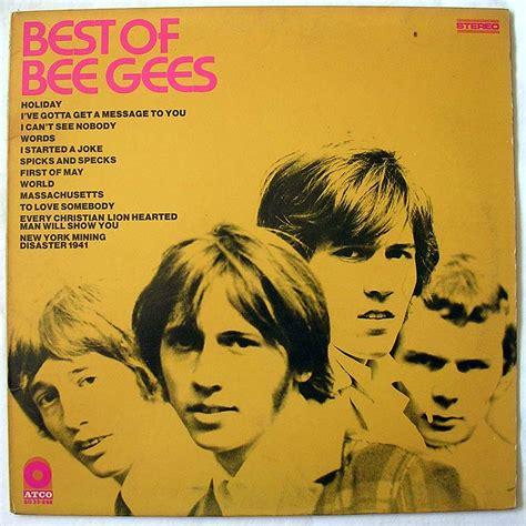 best of bee gees bee gees best of bee gees by atco records vinyl45lp