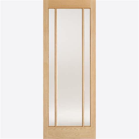 doors lincoln lincoln glazed oak door