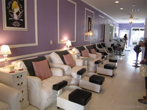 nail salon interior design the polishaholic an afternoon at the painted nail