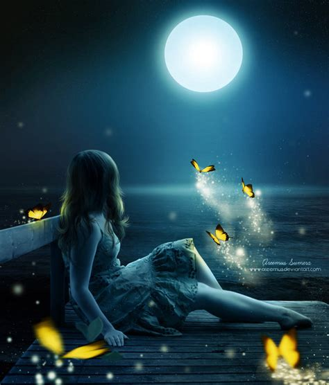 By The Light Of The Moon by By The Light Of The Moon By Areemus On Deviantart