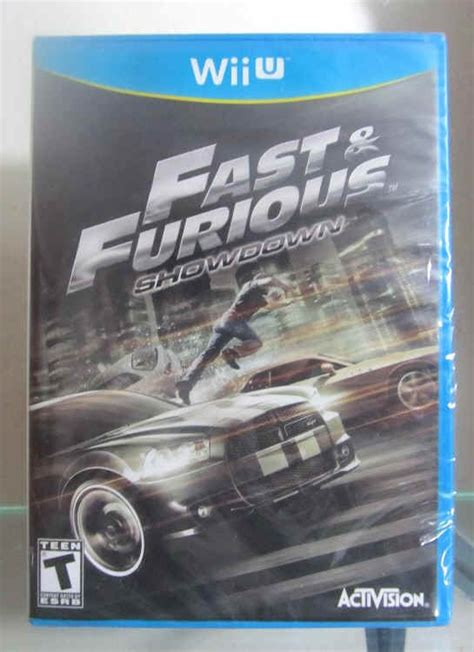 Nintendo 3ds Fast Furious Showdown Second wii u fast furious showdown nintendo wii rapidos