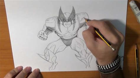 imagenes de wolverine en comic c 243 mo dibujar a lobezno draw wolverine youtube