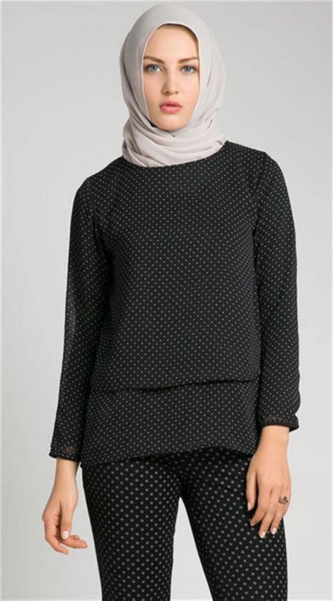 Atasan Santung Dewasa foto desain model baju atasan wanita muslim dewasa terbaru 2015