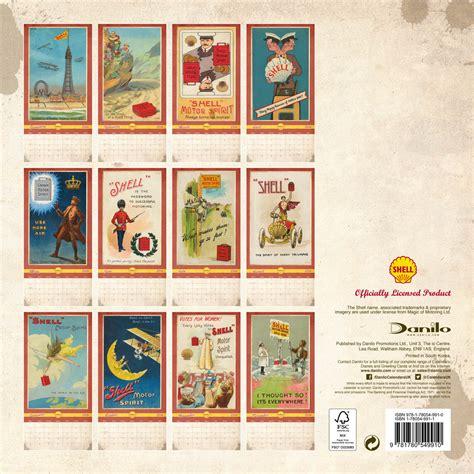 Calendar 2018 Vintage Shell Retro Calendars 2018 On Abposters