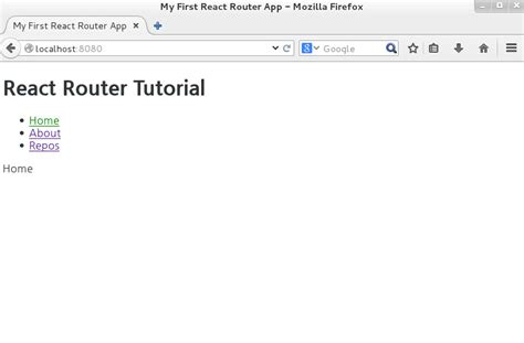 react native router tutorial fail setting react router tutorial 11 production ish server