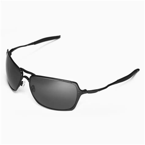 Oakley Inmate Xx Black Ducati Polarized new walleva polarized black titanium lenses for oakley inmate 608729248385 ebay