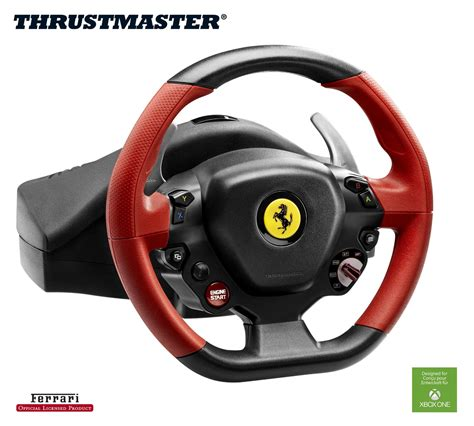 Xbox One Thrustmaster Vg 458 Spider Racing Wheel thrustmaster unveils 458 spider racing wheel inside sim racing