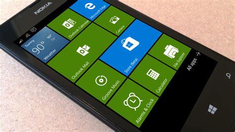 mobile win windows 10 mobile a atualiza 231 227 o ocupar 225 cerca de 4 5gb de