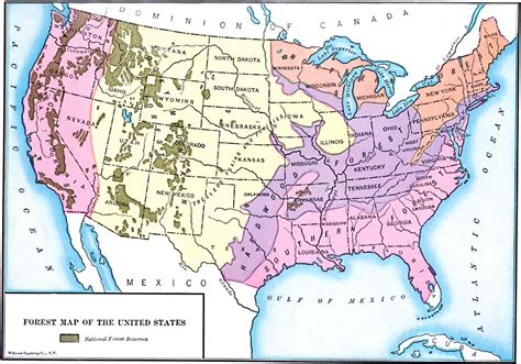 map us forests forest map of the united states