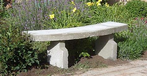 how to make garden bench concrete garden bench how to make