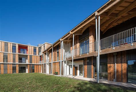 elderly housing nomade architectes delivers sustainable housing for the