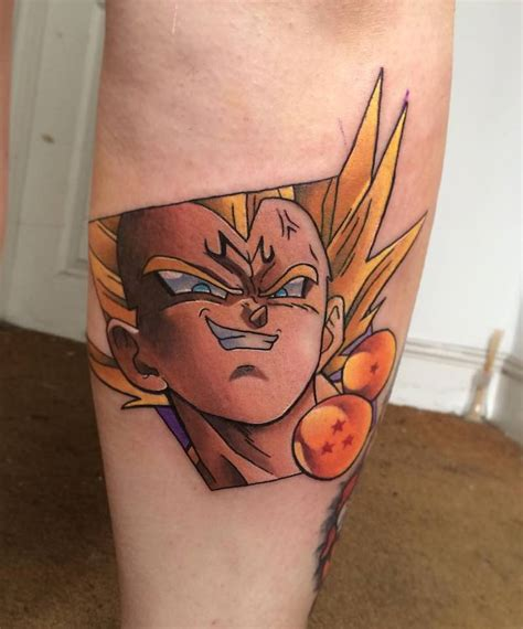 dbz tattoos the best z tattoos insider