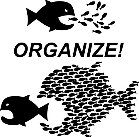 Organize Or Organise by Clipart Organize Workers Unite