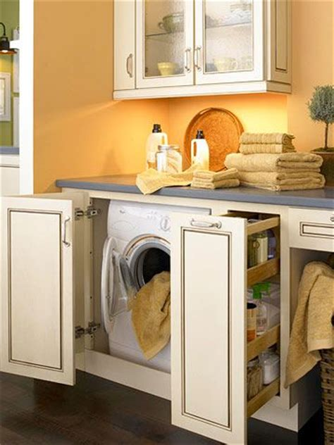 Kraftmaid Laundry Room Cabinets Creative Laundry Room Cabinetry Ideas Washers Washer And Dryer And Cabinets