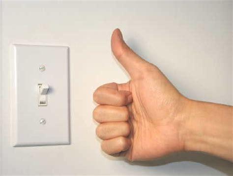 turn on light switch rec info center
