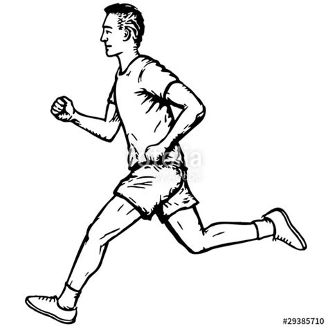 coloring pages of a person running quot uomo che corre quot im 225 genes de archivo y vectores libres de