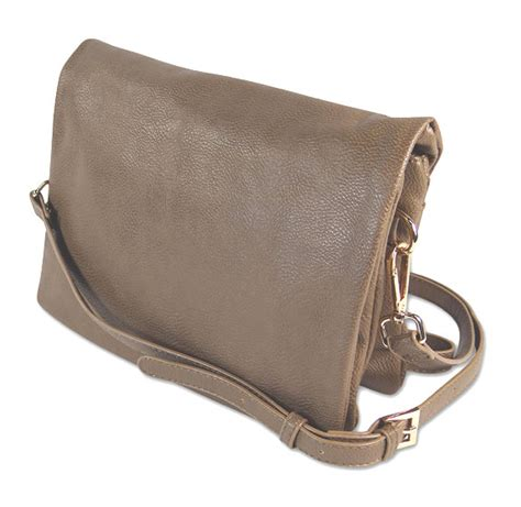 Faux Leather Cross Cross Bag faux leather carry all cross bag