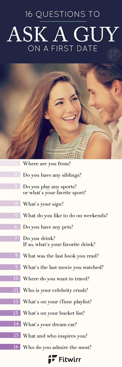 how to ask a to be your 16 questions to ask a on your date